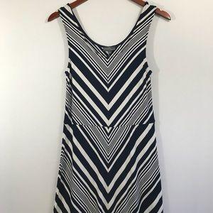 Dafne Chevron Maxi Dress